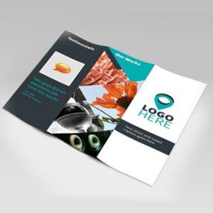 diseño folletos publicitarios